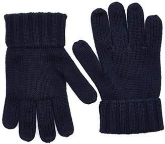 Tommy Hilfiger Boy's Cotton Cashmere Gloves,Medium