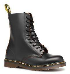 Dr. Martens Men's 1490 Lace-up Ankle Boots in Black