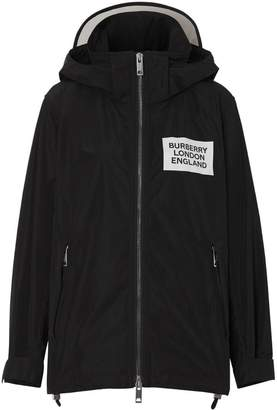 Burberry Detachable Hood Shape-memory Taffeta Jacket