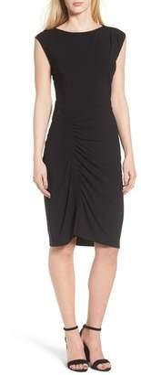 Trouve Ruched Knit Dress