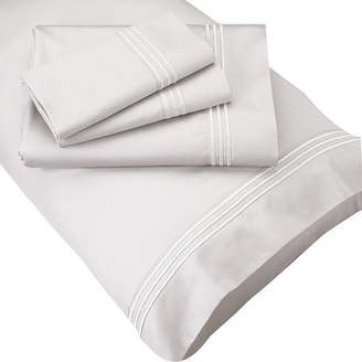 Asstd National Brand PureCare Luxurious SuperSoft SeaCell Sateen Set of 2 Pillowcases
