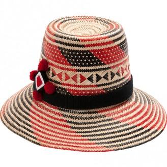 Yosuzi Multicolour Wicker Hat