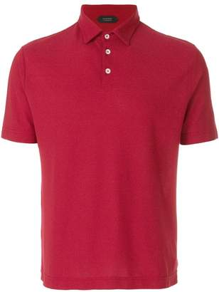 Zanone plain polo shirt