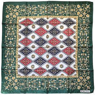 One Kings Lane Vintage Italian Renato Balestra Print Silk Scarf - Antiques on Jackson