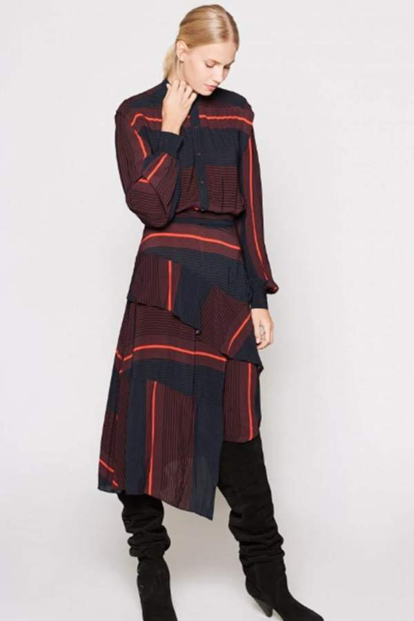 Roz Printed Dress
