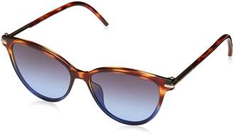 Marc Jacobs Sunglasses 47/S 0TMR Havana Brown Blue/HL gray flash silver lens