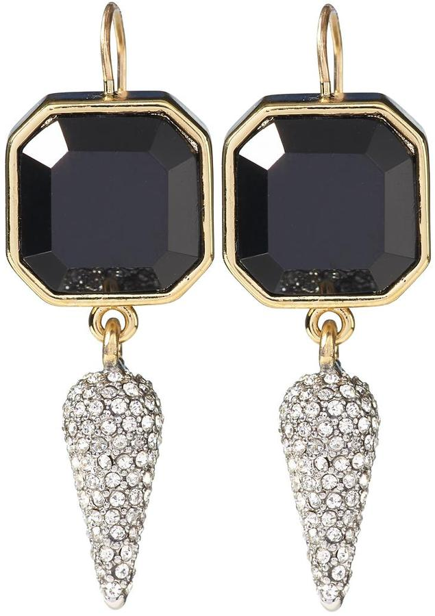 Juicy Couture Glam Punk Couture Black Diamond Spike Drops