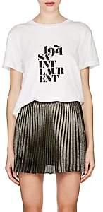 """Saint Laurent Women's """"1971 Cotton T-Shirt - White"""