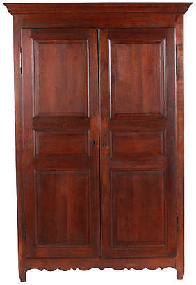 One Kings Lane Vintage C.1820 Monumental French Armoire - Vintique