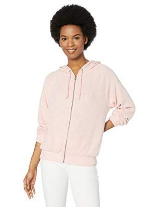 Roxy Junior's Cloudy Skies Cozy Ribbed Zip Up Hoodie