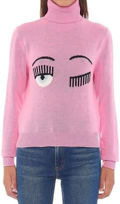 Chiara Ferragni 'flirting' Sweater