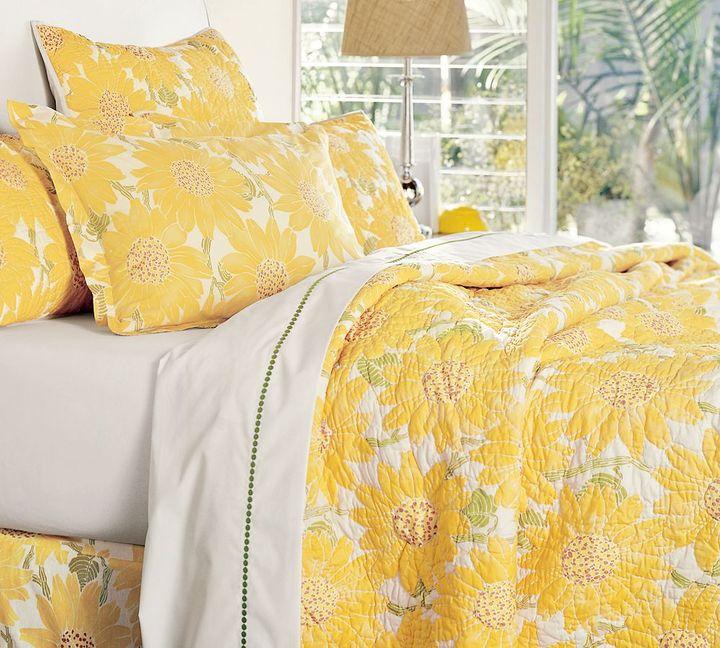 Sunflower Organic Quilt & Sham