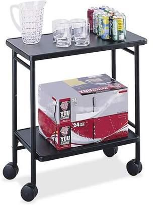 Safco, SAF8965BL, Beverage Folding Cart, 1 Each, Black