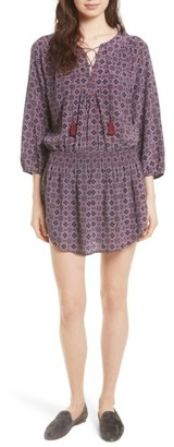Women's Joie Corra B Print Silk Blouson Dress $388 thestylecure.com