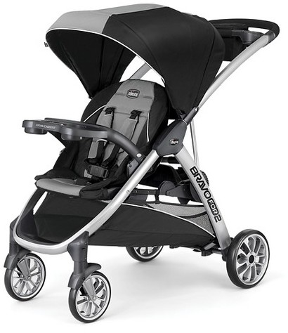 Chicco Chicco Bravo For 2 Double Stroller Zinc