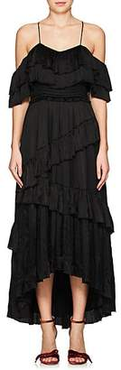 Ulla Johnson WOMEN'S LOUISA SILK MAXI DRESS - NOIR SIZE 0