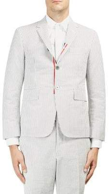 Thom Browne Pinstriped Cotton Sportcoat