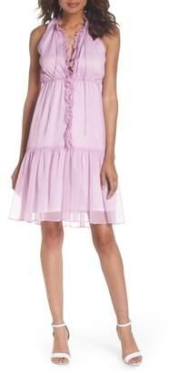NSR Bella Ruffle Chiffon Dress