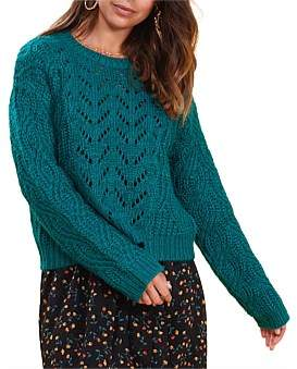 MinkPink In Touch Knit Sweater