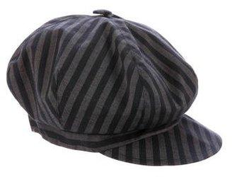 Eugenia Kim Striped Newsboy Cap