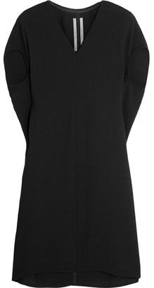 Rick Owens - Floating Hammered-satin Dress - Black $720 thestylecure.com