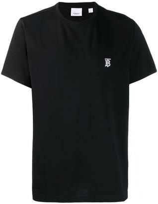 Burberry TB embroidered T-shirt