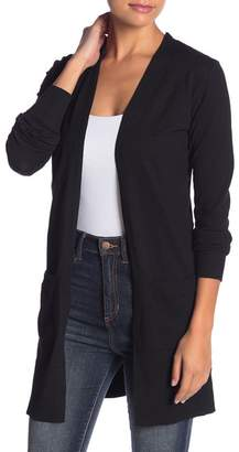 Susina Open Front Cardigan (Regular & Petite)