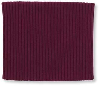 St. John Wool Rib Knit Cowl
