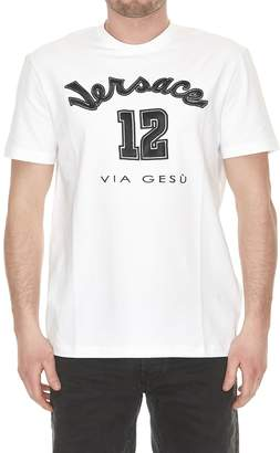 Versace 12 Fitted T-shirt