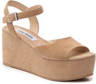 130a99fa82f9 Steve Madden Brown Platform Heel Women s Sandals - ShopStyle