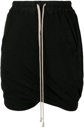 Rick Owens drawstring shorts