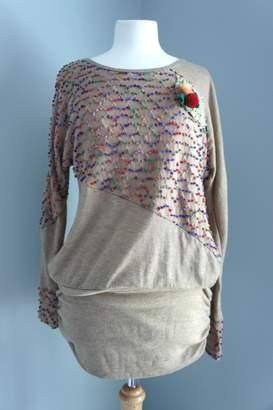 No Name Sweater Mini Dress