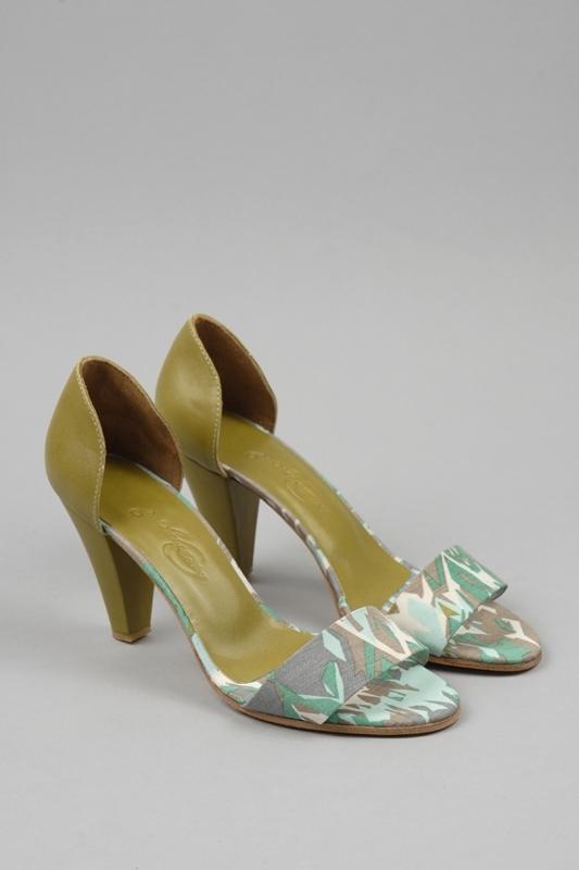 Rachel Comey Gatsby Woven Leather & Linen Sandals