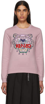 Kenzo Pink Classic Tiger Sweatshirt