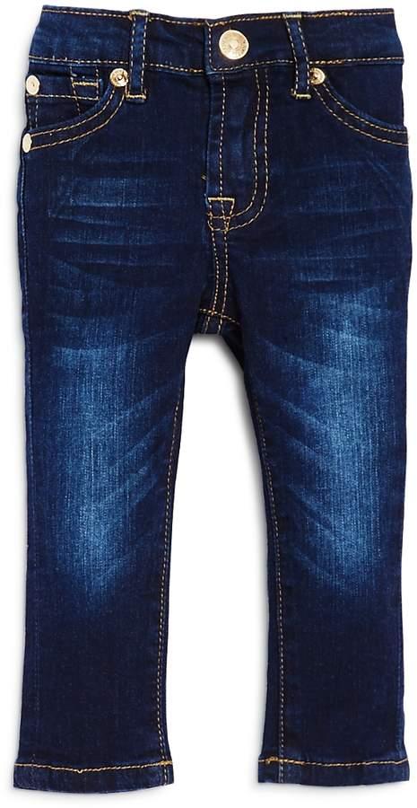 Unisex Dark-Wash Skinny Jeans - Baby