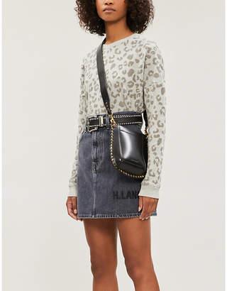 Rails Marlo leopard-print cotton-blend jersey jumper