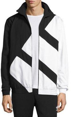 Adidas Bold Stripe Track Jacket, Black $100 thestylecure.com