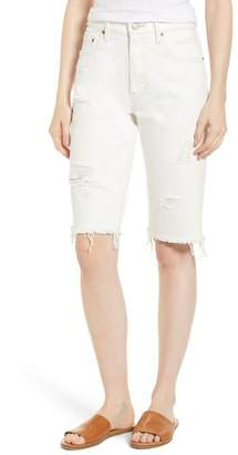 Lucky Brand Denim Bermuda Shorts (Mezzanine Destructed)
