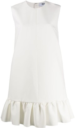 MSGM ruffled hem dress