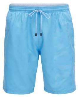 BOSS Hugo Swim shorts in brushed technical fabric M Light Blue