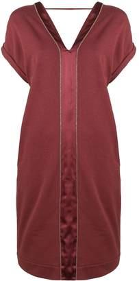 Brunello Cucinelli short V-neck dress