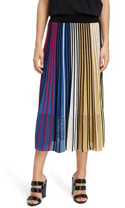Kenzo Pleated Rib Knit Skirt