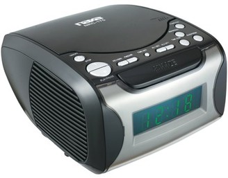 Christian Dior Naxa NRC175 Digital Alarm Clock Radio & Player