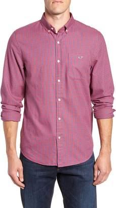 Vineyard Vines Tradewinds Slim Fit Check Flannel Shirt