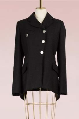 Proenza Schouler Asymmetrical Tweed Jacket