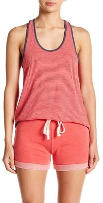 Alternative Striped Hi-Lo Racerback Tank