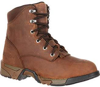 d11f9c9e417f Rocky Women s Lace-Up Aztec Steel Toe Work Boot