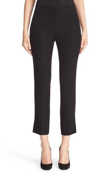 Women's Armani Collezioni Slim Techno Cady Pants