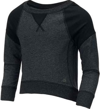 Champion Gear Girls' Marilyn French Terry Pullover Sweatshirt M