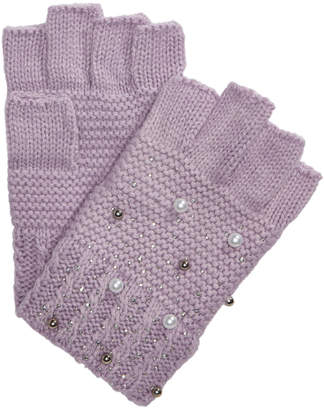 INC International Concepts I.N.C. Shine Like the Night Fingerless Gloves, Created for Macy's